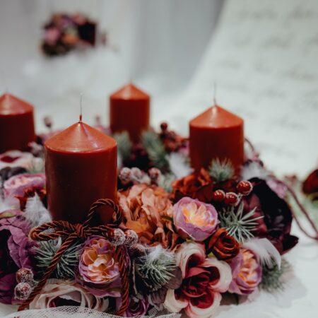 adwent - świeczki